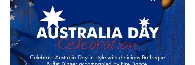 Australia Day Celebration at Discovery Kartika Plaza Hotel