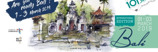 1O1 TRAVEL SKETCH BALI INTERNATIONAL EDITION Bali to Host the First International Art Sketch Event in Indonesia