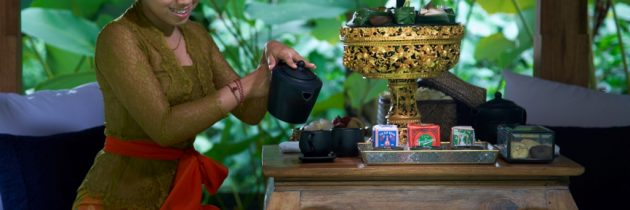 Enjoy a Serene Afternoon Tea Time at Samsara Ubud