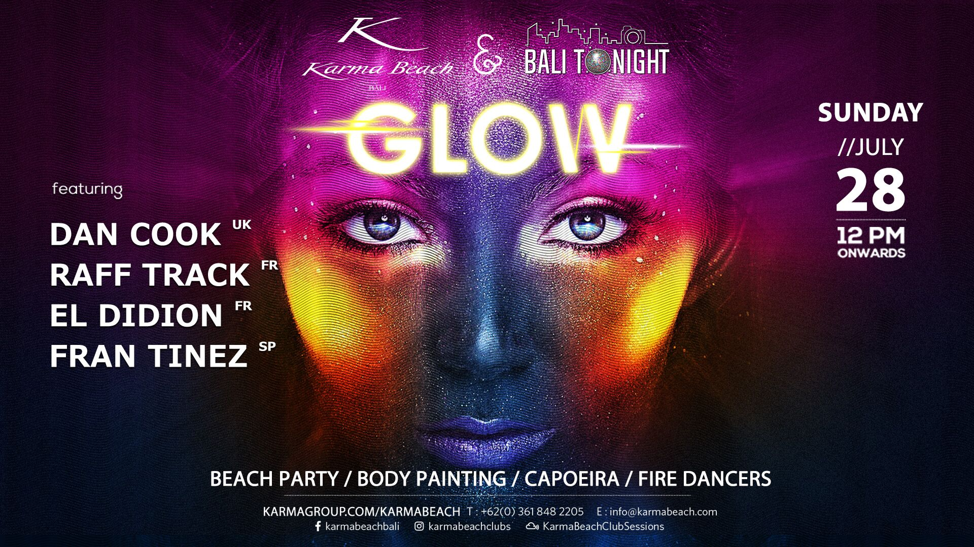 http://highend-traveller.com/glow-returns-to-karma-beach-bali-for-2019/