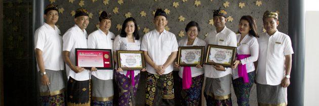 The ANVAYA Beach Resort Bali Receives a Gold Medal in the Tri Hita Karana Awards 2019