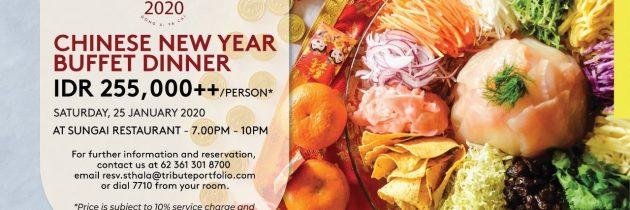STHALA UBUD CHINESE NEW YEAR DINNER 2020