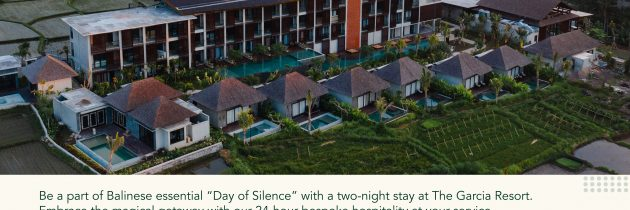 "Magical ""Silence Day"" at The Garcia Ubud"