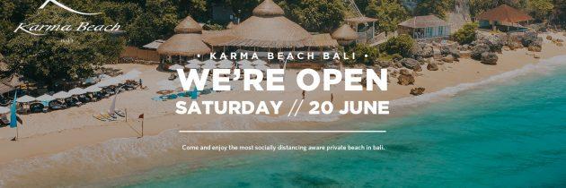 Karma Beach Bali Open Now