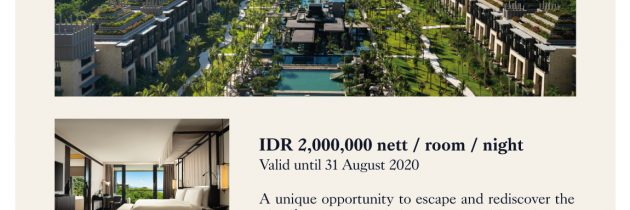 The Apurva Kempinski Bali Staycation
