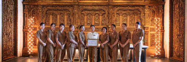 Apurva Spa Wins 'Best Hotel Spa' in Coveted Condé Nast Johansens Award