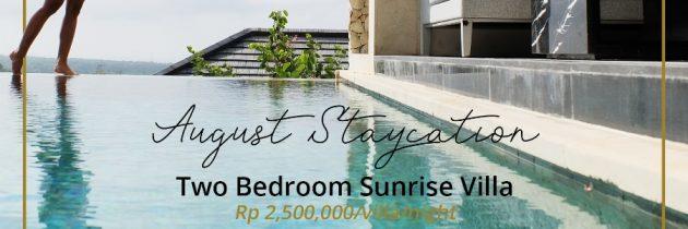 Enjoy Staycation at Prasana Villas Uluwatu by Arjani Resorts