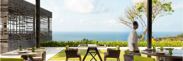 Alila Villas Uluwatu cooks up new gourmet experiences over the ocean and at home
