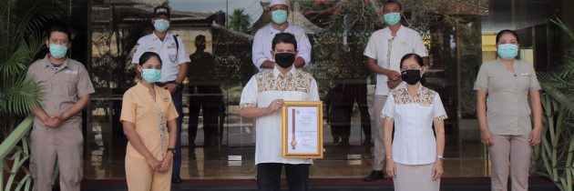 SenS Hotel & Spa has received the New Normal Certification from the Bali Government