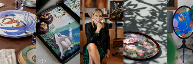 John Hardy Seminyak Boutique & Gallery Showcases Mary Justice Designs in First Solo Exhibition Entitled 'Re-imagining the Age of Discovery in the Decorative Arts'
